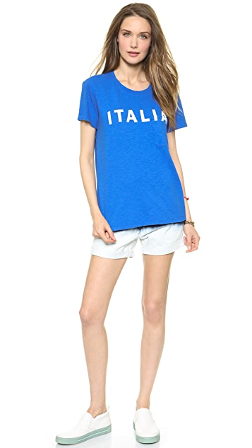 TEXTILE Elizabeth and James Italia Bowery Tee