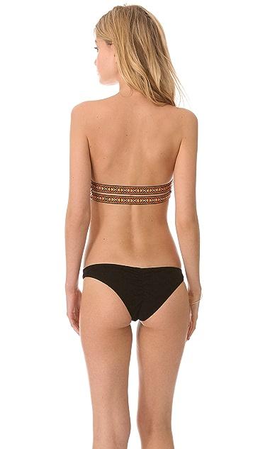 Tyler Rose Swimwear Gypsy Crochet Bandeau Bikini Top