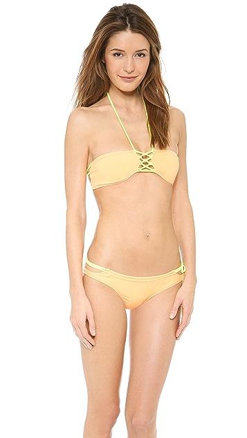 Tyler Rose Swimwear Graham Bandeau Bikini Top
