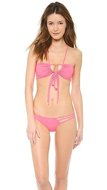 Tyler Rose Swimwear Brock  Bandaeau Bikini Top