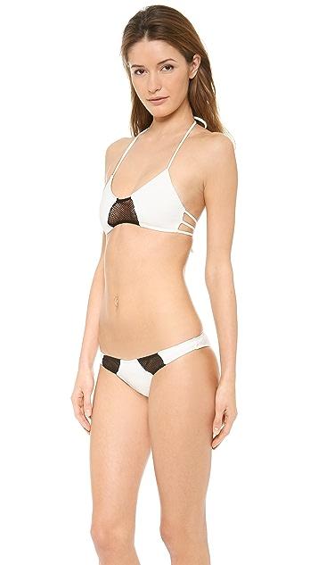 Tyler Rose Swimwear Bruce Halter Bikini Top