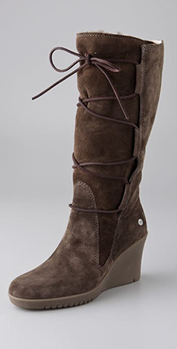 81991cf497d Elsey Tall Wedge Boots