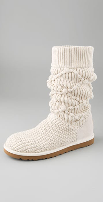 Ugg Australia Classic Argyle Knit Boots Shopbop