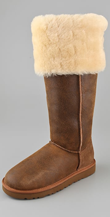 8e592da349b UGG Australia Over the Knee Bailey Button Boots