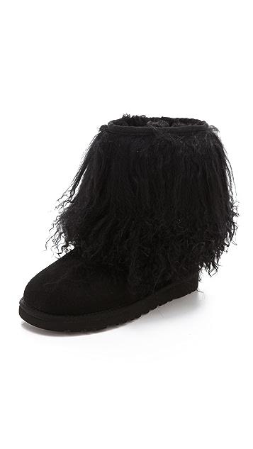 UGG Australia Short Sheepskin Cuff Boots ...