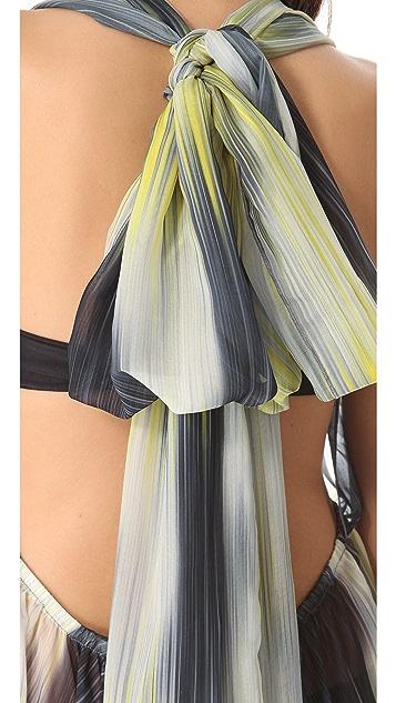Uintah Helena Halter Cover Up Dress
