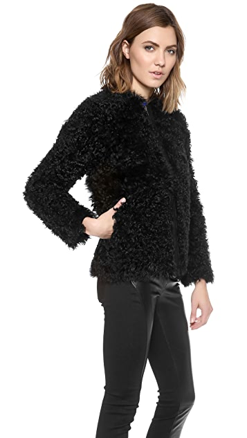 Ulla Johnson Falcon Fur Jacket