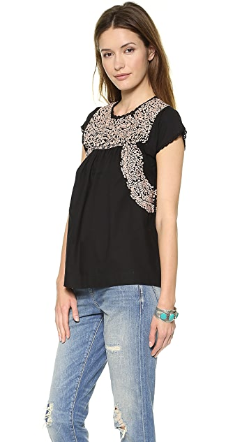 Ulla Johnson Calia Blouse