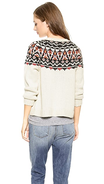 Ulla Johnson Elgin Intarsia Sweater