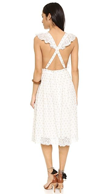 Ulla Johnson Ethel Pinafore Dress