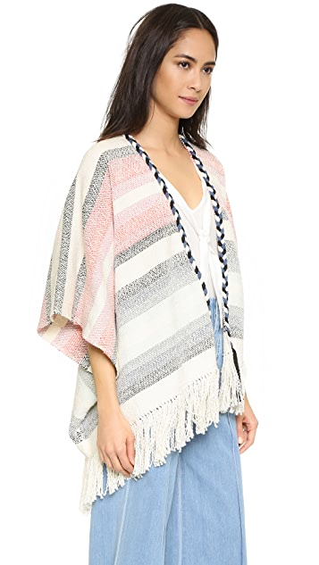 Ulla Johnson Georgia Poncho