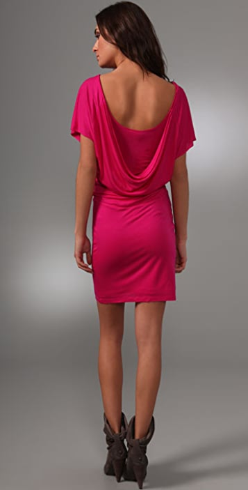 under.ligne by doo.ri Draped Back Dress