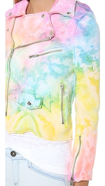 UNIF I Dye Moto Jacket