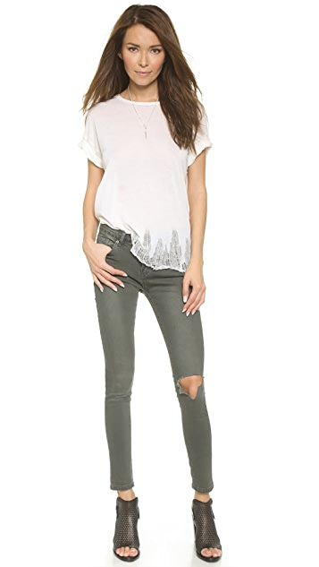 UNIF Low Rise Dunn Jeans