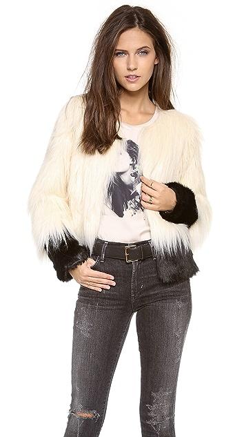 Unreal Fur Fire & Ice Faux Fur Jacket