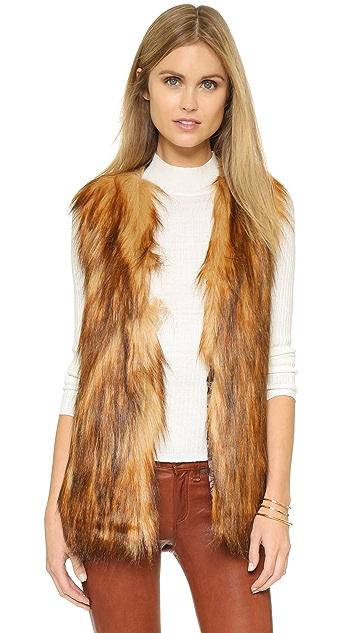 Unreal Fur Faux Fur Play Vest