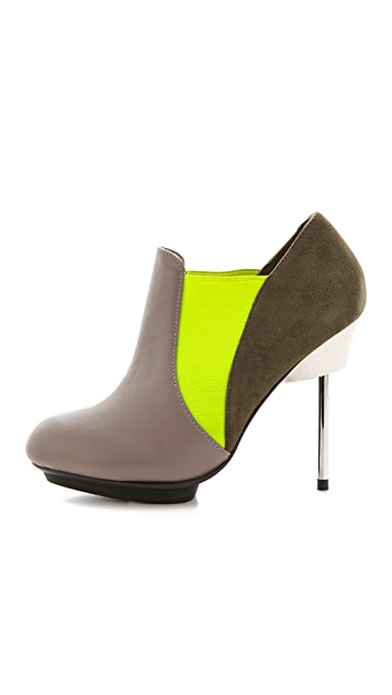 United Nude Pin Naomi Colorblock Booties