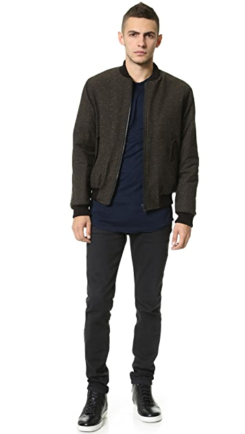 United Stock Dry Goods Multi Nep Bomber Jacket