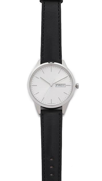 Uniform Wares C40 Brushed Steel Watch