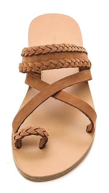 Valia Gabriel Vanilla Rum Sandals