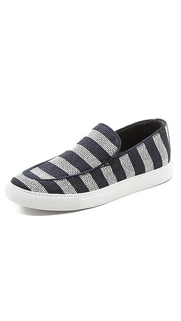 Viktor & Rolf Striped Deck Shoes