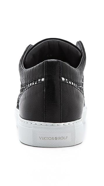 Viktor & Rolf Mesh Pattern Sneakers