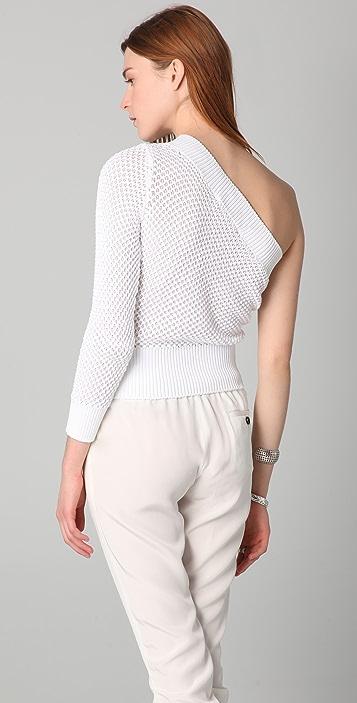 VIKTOR & ROLF One Shoulder Sweater