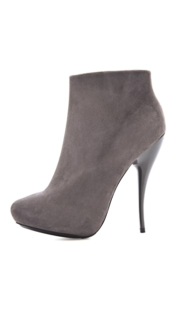 VIKTOR & ROLF Suede High Heel Booties