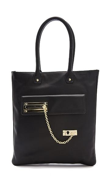 VIKTOR & ROLF Lock & Chain Tote Bag