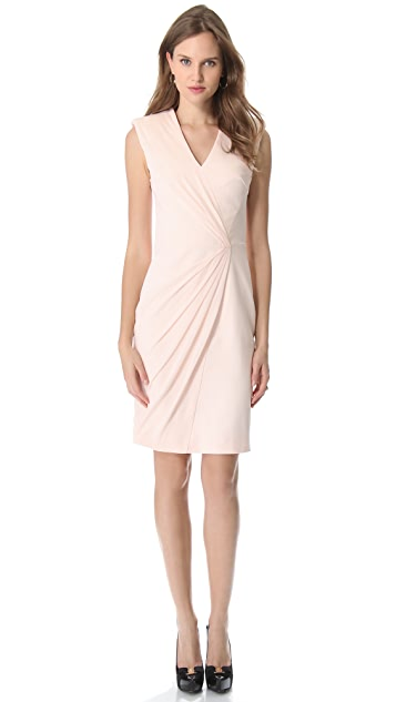 VIKTOR & ROLF Sleeveless Crepe Dress