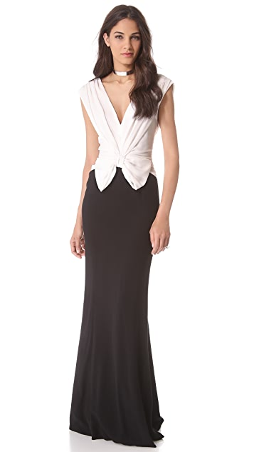 VIKTOR & ROLF Bow Sleeveless Gown