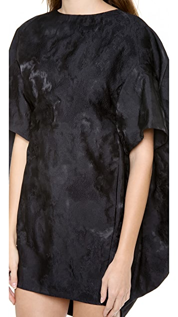 VIKTOR & ROLF Short Sleeve Bow Back Dress