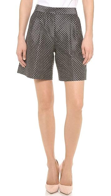 VIKTOR & ROLF Dots Jacquard Shorts