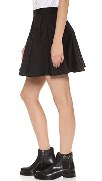 VIKTOR & ROLF Pleated Skirt