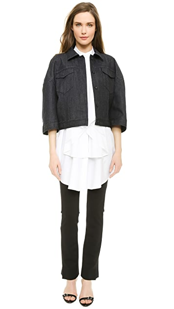 VIKTOR & ROLF Stretch Denim Jacket