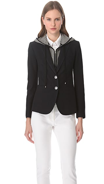 Veronica Beard The Stripe Dickey Jacket