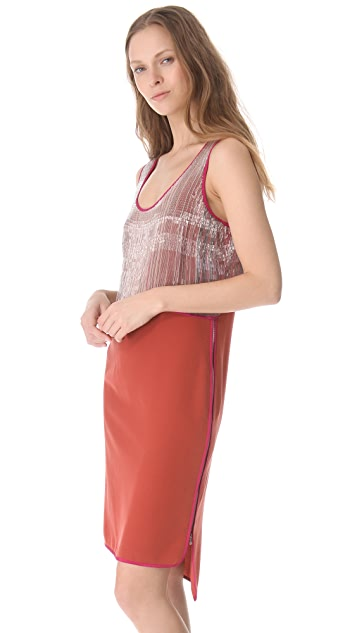 Veronica Beard The Beaded Layer Dress