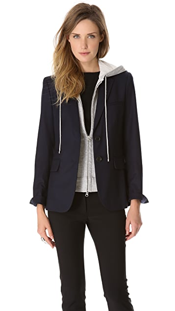 Veronica Beard Jacket with Hoodie
