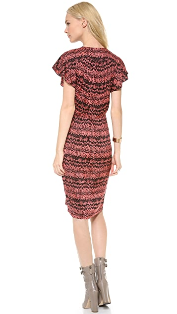 Veronica Beard The Wrap Front Dress