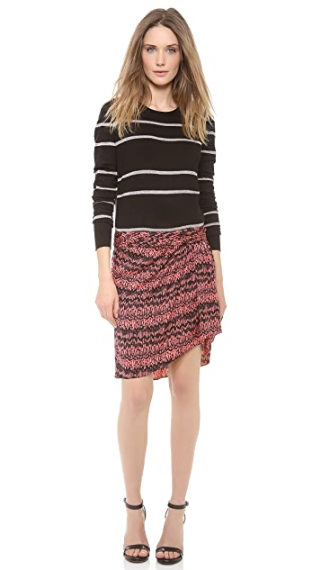 Veronica Beard The Drape Skirt