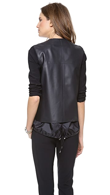 Veronica Beard The Drawstring Combo Jacket