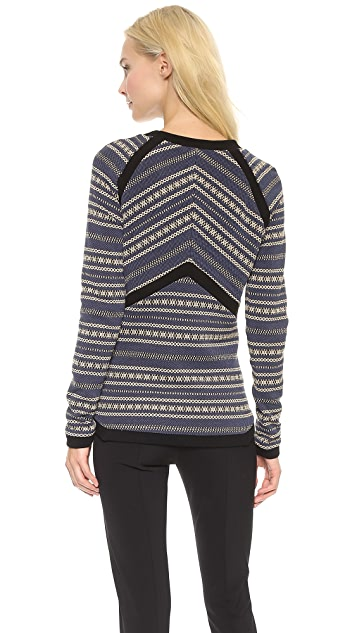 Veronica Beard Seamed Pullover