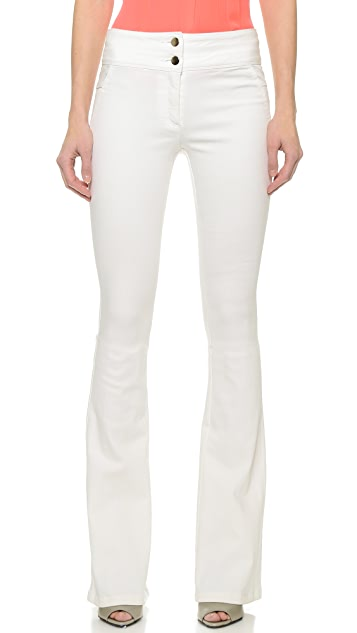 Veronica Beard Stretch Denim Flare Leg Jeans