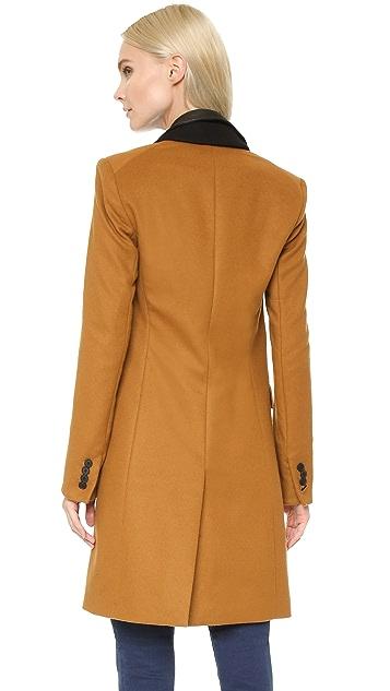 Veronica Beard Chesterfield Dickey Coat
