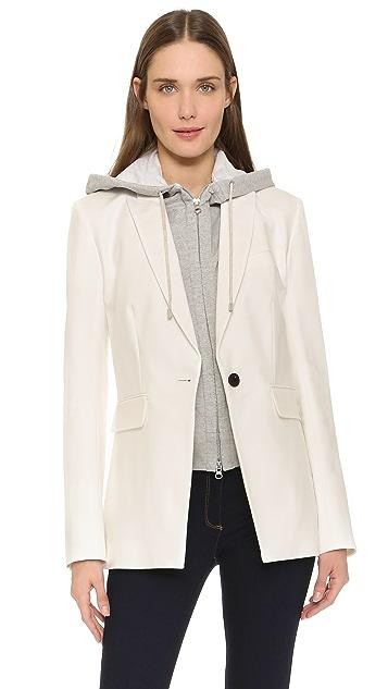 Veronica Beard Long & Lean Compact Jacket