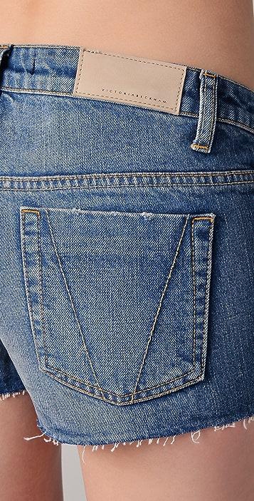Victoria Beckham Boyfriend Shorts
