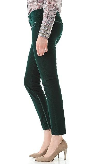 Victoria Beckham Multi Zip Jeans