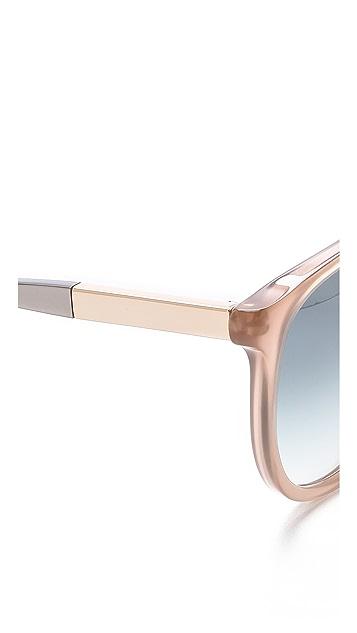 Victoria Beckham Relaxed Fine D Sunglasses