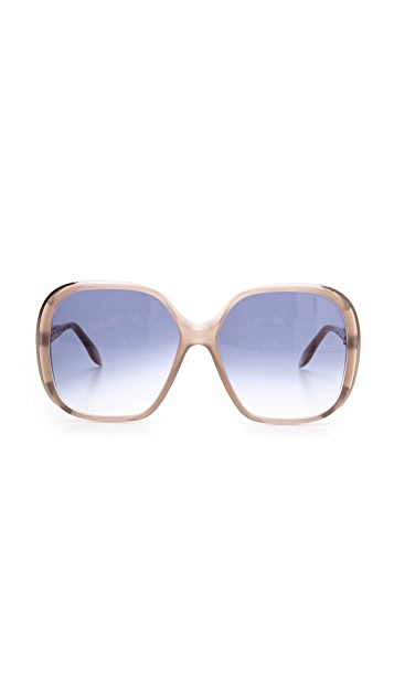 Victoria Beckham Sunbeam Square Sunglasses
