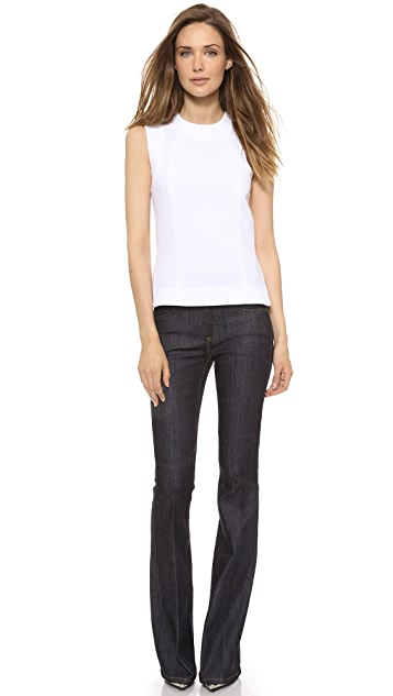 Victoria Beckham Side Split Shell Top